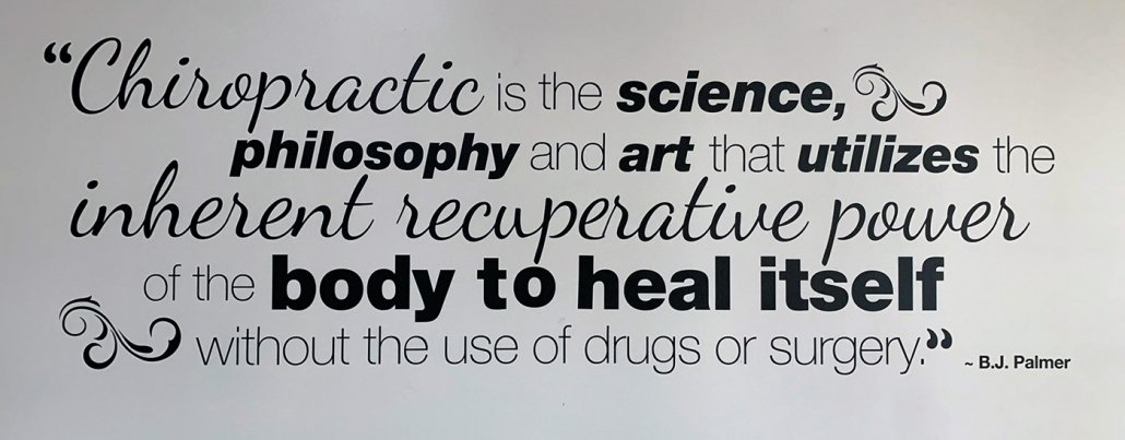 Chiropractic Quote by B.J. Palmer